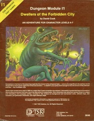 Dwellers of the Forbidden City I1 © 1981 tsr9046
