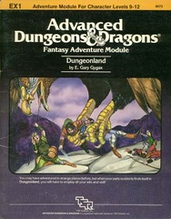 AD&D EX1 - Dungeonland 9072