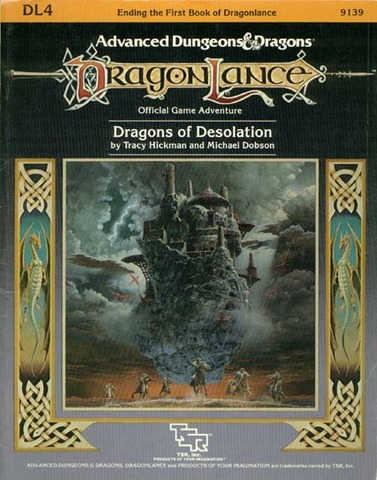 AD&D DL4 - Dragons of Desolation 9139
