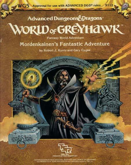 AD&D Greyhawk Mordenkainens Fantastic Adventure 9112 WG5
