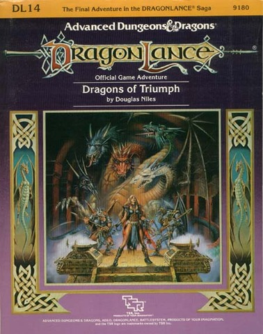 AD&D DL14 - Dragons of Triumph 9180