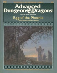 AD&D I12: Egg of the Phoenix 9201