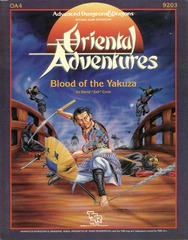 AD&D - OA4 - Blood of the Yakuza 9203