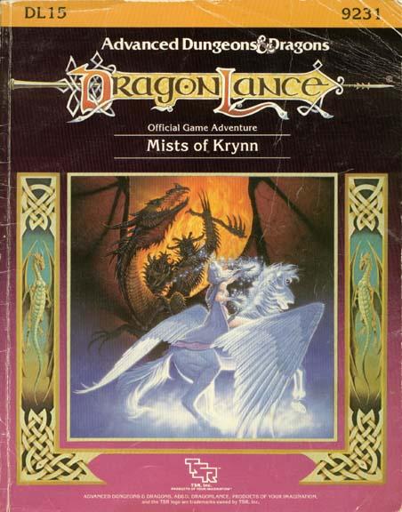 AD&D DL15 - Mists of Krynn 9231