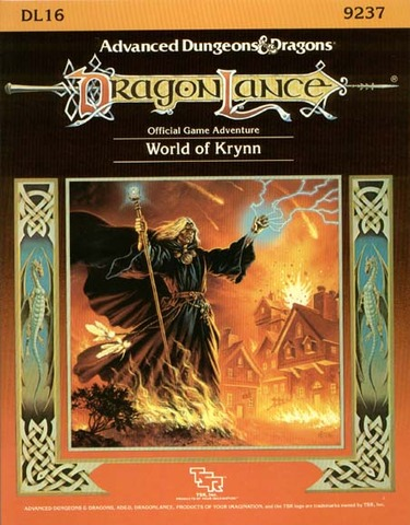 AD&D DL16 - World of Krynn 9237