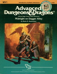 AD&D - MV1 - Midnight on Dagger Alley 9104