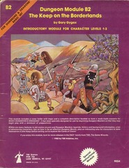 D&D B2 - The Keep on the Borderlands - 9034