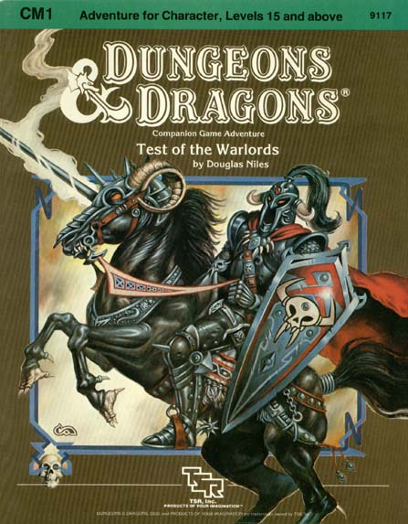 D&D CM1 - Test of the Warlords 9117