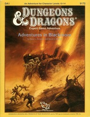 D&D DA1 - Adventures in Blackmoor 9172