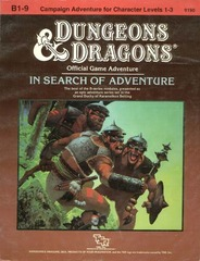D&D B1-9 - In Search of Adventure 9190