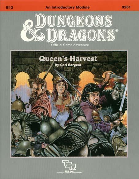 D&D B12 - Queens Harvest 9261