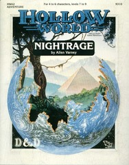D&D Hollow World HWA2 Nightrage 9310
