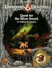 D&D - Quest for the Silver Sword - 9342