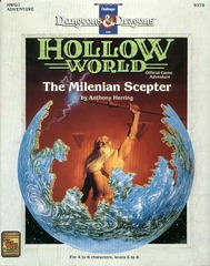 D&D Hollow World HWQ1 The Milenian Sceptre 9378
