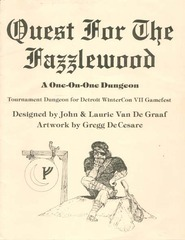 Quest for the Fazzlewood