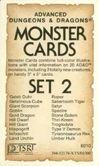 Monster Cards, Set 2