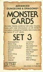 Monster Cards, Set 3