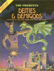 AD&D Deities and Demigods w/ Cthulhu & Melnibonean HC 2013