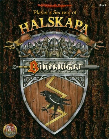 Birthright - Player's Secrets of Halskapa 3122