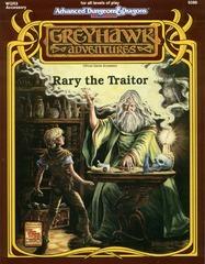 AD&D 2E Greyhawk: Rary the Traitor 9386 SC