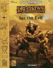 AD&D 2E Greyhawk Adventures: Iuz the Evil 9399 WGR5