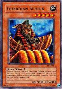 Guardian Sphinx - PGD-025 - Ultra Rare - 1st Edition