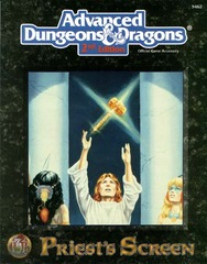 AD&D 2E - Priest's Screen 9462