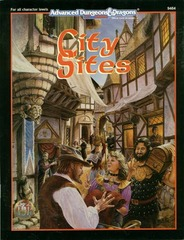 2nd Edition - City Sites Game Accessory (Good)