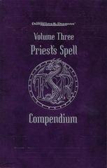 Priest's Spell Compendium, Volume Three