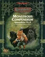 Ravenloft - Monstrous Compendium Appendices I & II 2162