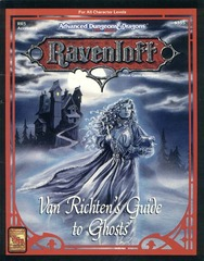 Ravenloft RR5 - Van Richten's Guide to Ghosts 9355