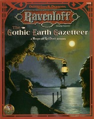 Ravenloft - The Gothic Earth Gazetteer: A Masque of the Red Death Accessory 9498