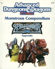 AD&D(2e) - Monstrous Compendium Spelljammer Appendix 2109
