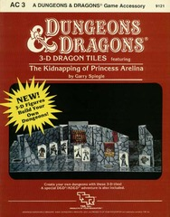 D&D AC3 - 3-D Dragon Tiles: Kidnapping of Princess Arelina 9121
