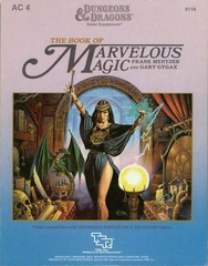 D&D AC4 - The Book of Marvelous Magic 9116