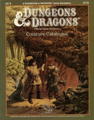 D&D AC 9 - Creature Catalogue 9173
