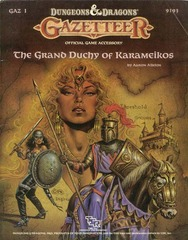 D&D GAZ1 - The Grand Duchy of Karameikos 9193