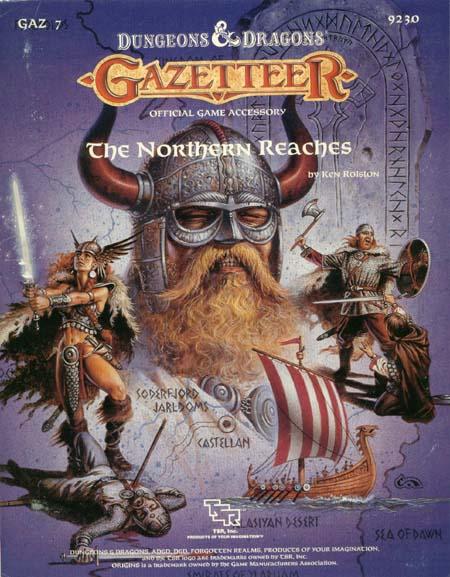 D&D GAZ7 - The Northern Reaches 9230