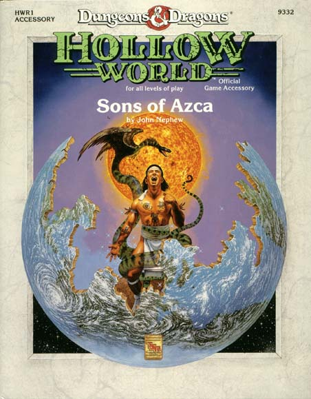 D&D Hollow World HWR1 Sons of Azca 9332