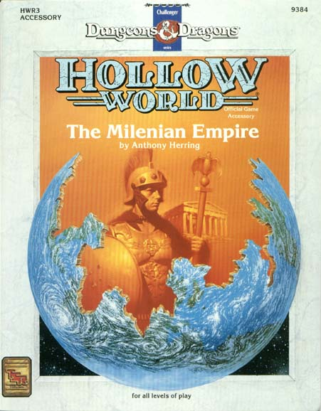 D&D Hollow World HWR3 The Milenian Empire 9384