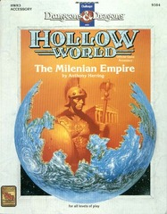 D&D Hollow World HWR3 The Milenian Empire 9384