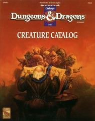 Creature Catalog