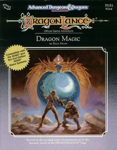AD&D(2e) DLE2 - Dragon Magic 9244