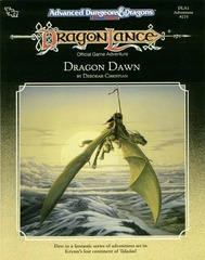 AD&D(2e) DLA1 - Dragon Dawn 9275