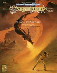 AD&D(2e) DLQ1 - Knight's Sword 9381