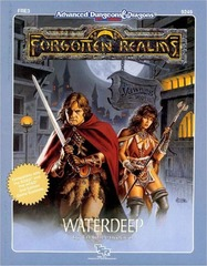 AD&D 2e FRE3 - Waterdeep 9249