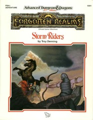 AD&D 2e FRA1 - Storm Riders 9281