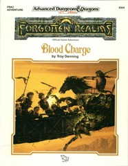 AD&D 2e FRA3 - Blood Charge 9304