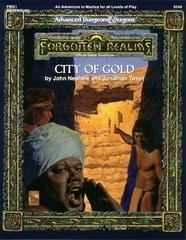 AD&D (2e) FMQ1 - City of Gold 9349