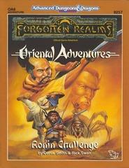 AD&D 2e OA6 - Ronin Challenge 9257